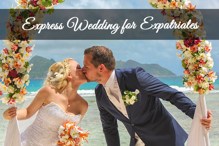 Express Wedding in Seychelles