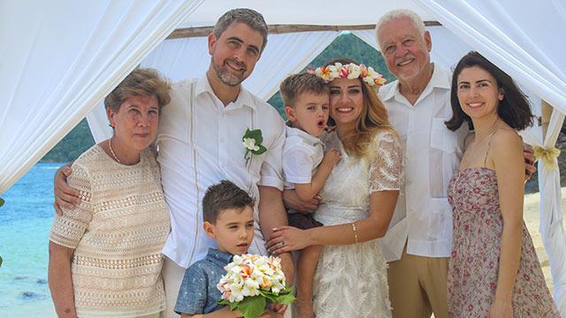 Hochzeit auf den Seychellen mit Familie