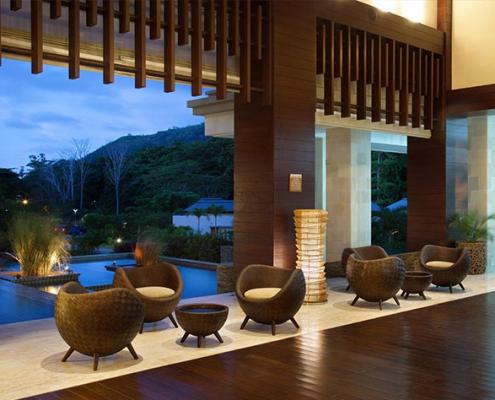 Savoy Seychelles lounge