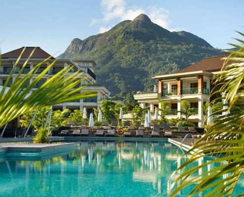 Savoy Seychelles pool