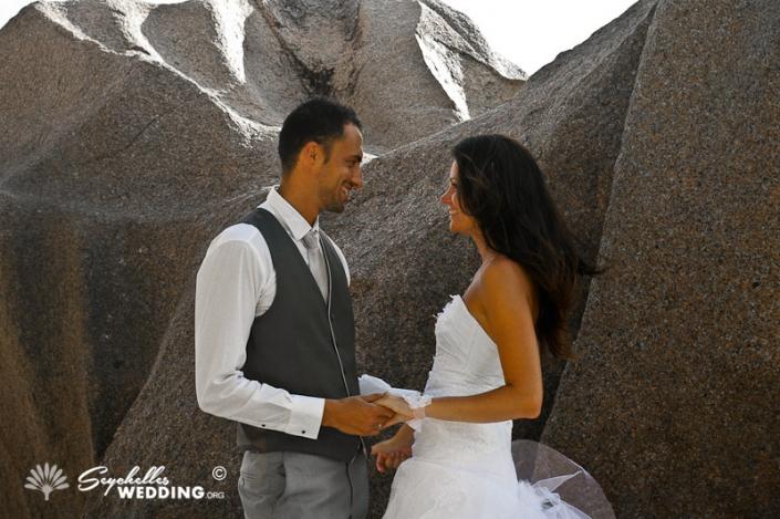 Wedding Anse Source d'Argent