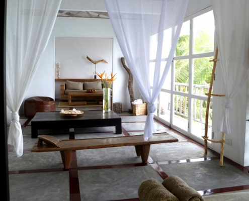 This image shows the Bliss Hotel seaview room