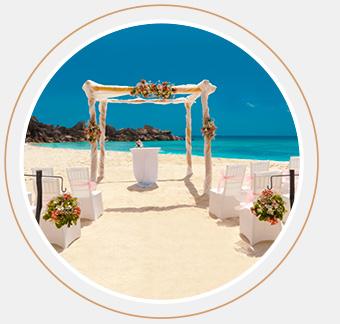 Das Bild zeigt das Premium Hochzeitspaket