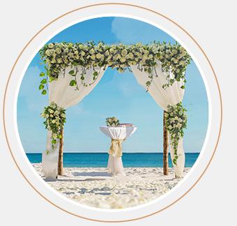 Das Bild zeigt das Superior Hochzeitspaket