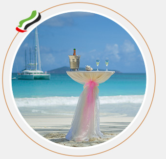 This image shows the UAE Basic Wedding Package category