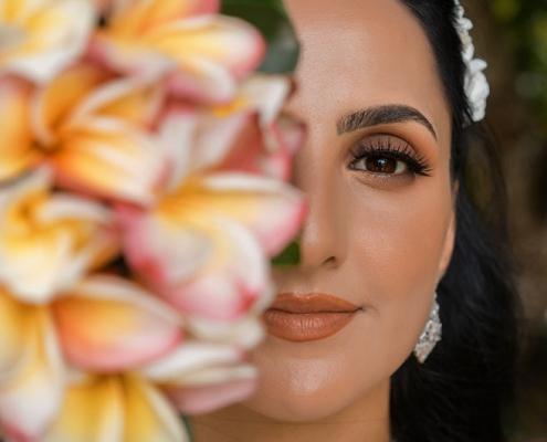 bride bouquet close-up