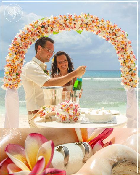Das Bild zeigt das Deluxe Hochzeitspaket