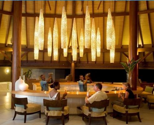 Denis island resort bar