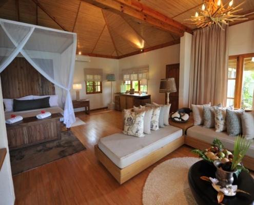 Denis island resort villa