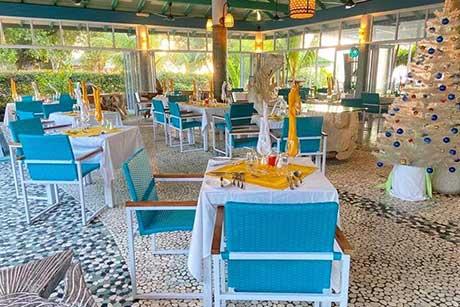 Fish Trap restaurant La Digue