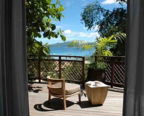 Orangeraie balcony