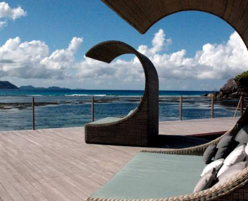 Orangeraie beach bed