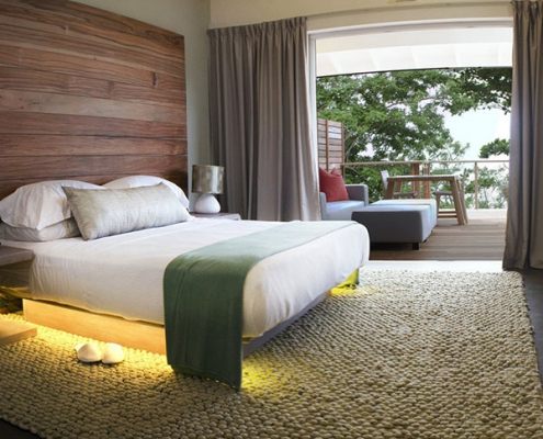 Carana Beach Hotel Bedroom