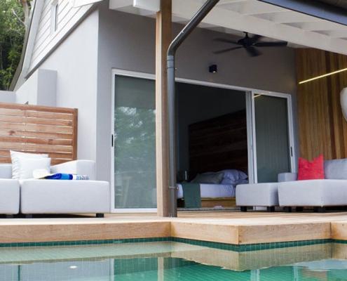 Carana Beach Hotel private pool