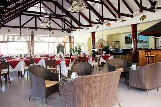 Pirogue Restaurant Praslin