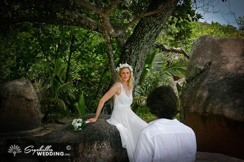 Wedding Praslin Anse Lazio