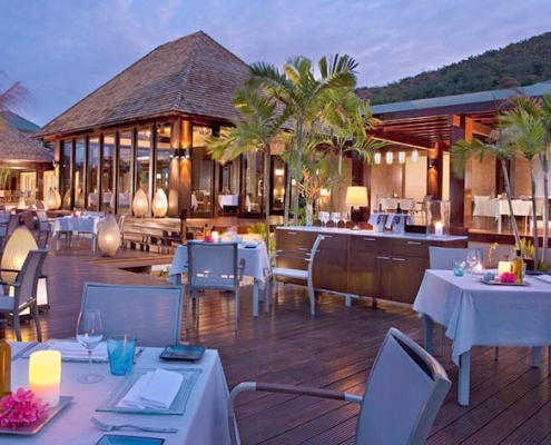 Raffles Praslin restaurant