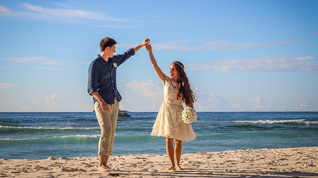 Seychellen Honeymoon auf einer Insel