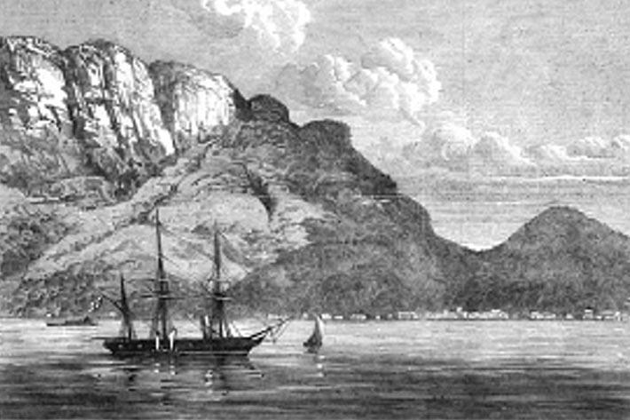 Seychelles History old Postcard