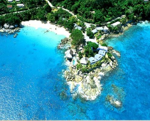 Sunset Beach Hotel birdview