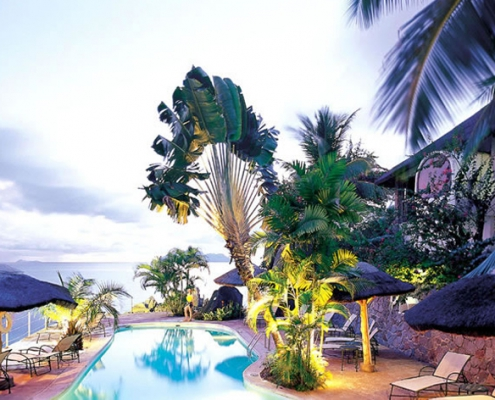 Sunset Beach Hotel Garden