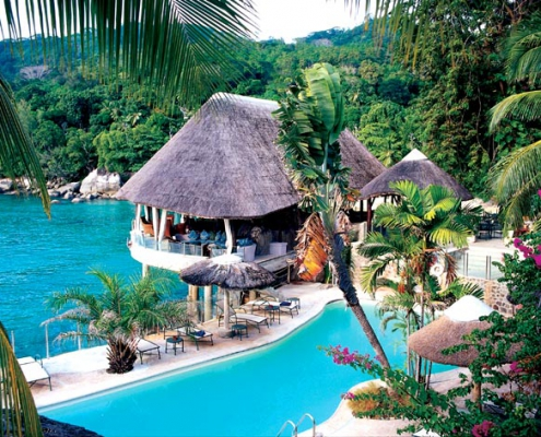 Sunset Beach Hotel outdoor pool