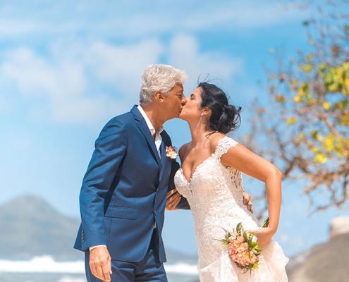 couple at Glacis, Mahe