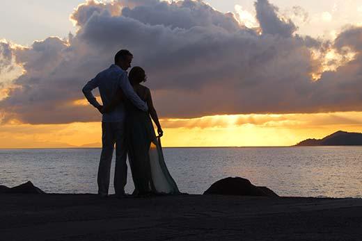 Photo couple -wedding destination Seychelles