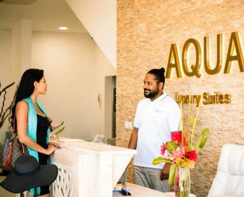 Aqua Boutique Hotel Reception