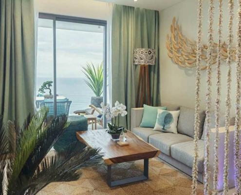Aqua Boutique Hotel Suite Living Room