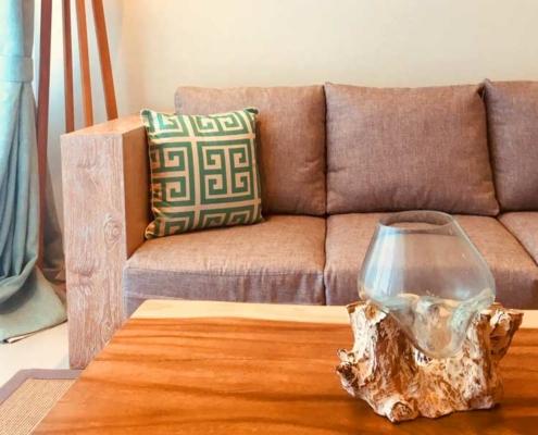 Aqua Boutique Hotel Suite Living Sofa