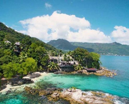 Hilton Northolme Seychelles Aerial View