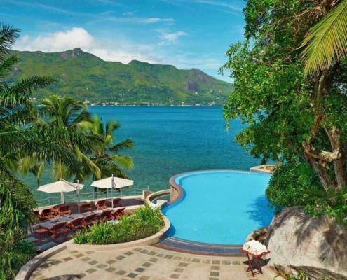 Hilton Northolme Seychelles Infinity Pool