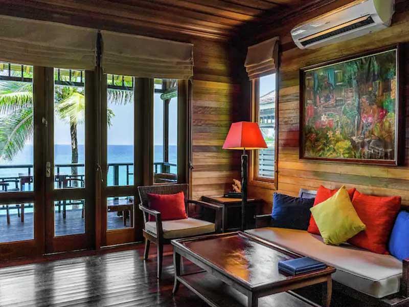 King Oceanview Villa