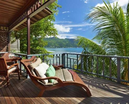 Hilton Northolme Seychelles Sundeck