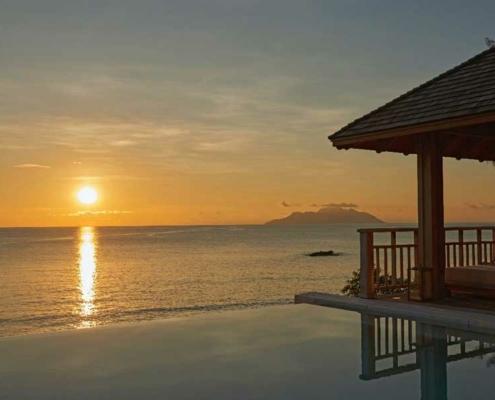 Hilton Northolme Seychelles at Sunset