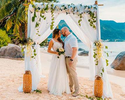 Getting married in Seychelles