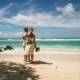 Excellent Reasons to Choose a Beach Wedding, wedding couple at beach